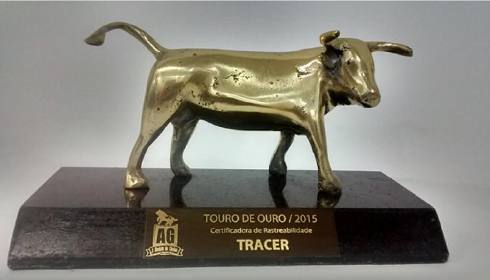 TRACER recebe Troféu Touro de Ouro 2015