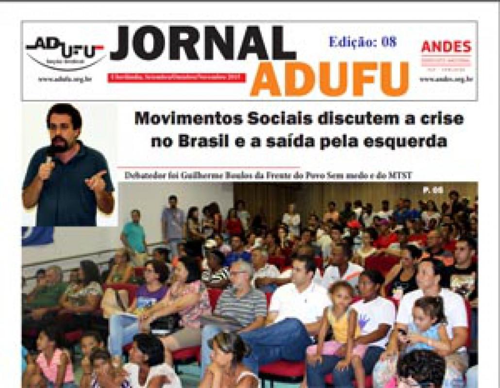 Jornal ADUFU-SS Edição: 08 - Setembro/Outubro/Novembro 2015
