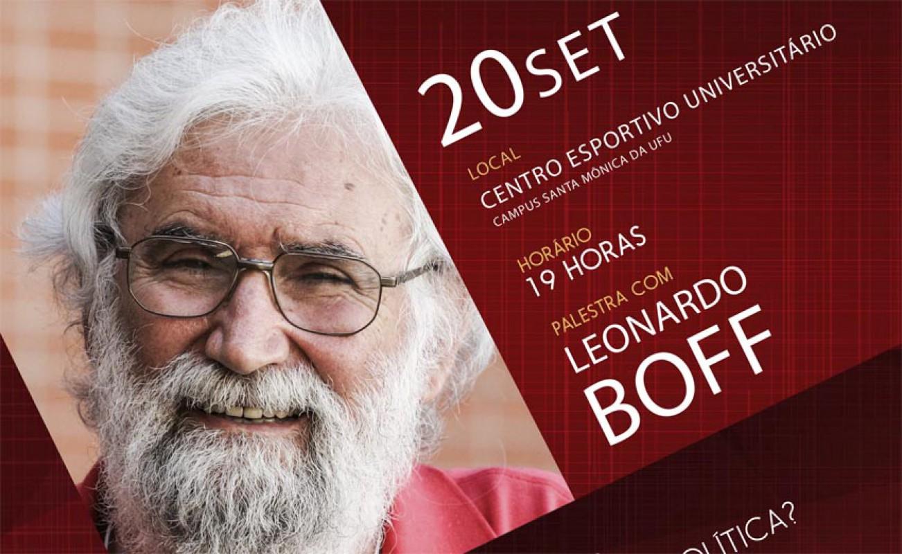 ADUFU-SS promove palestra com Leonardo Boff dia 20/09