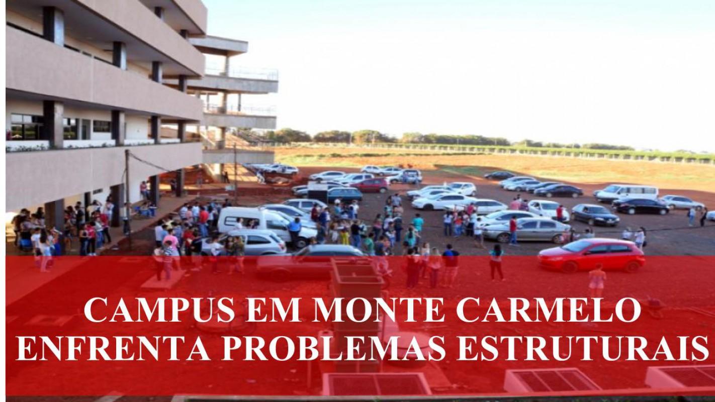 Campus UFU em Monte Carmelo enfrenta problemas estruturais