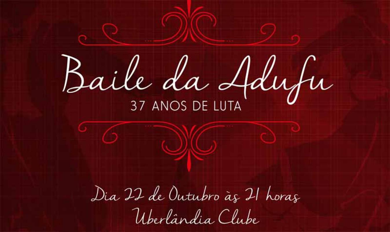 ADUFU promove o Baile do Professor, dia 22 de outubro