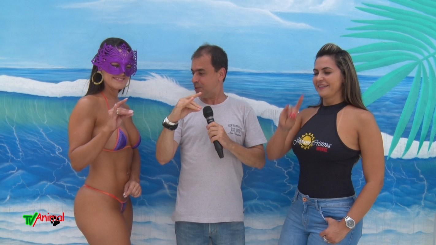 o seu carnaval começa no espaço josiane cristina bronze. Confira as novidade no programa tv animal.