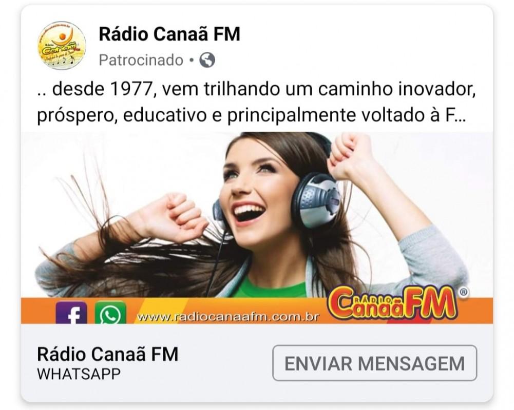 R�dio Cana� FM - Facebook
