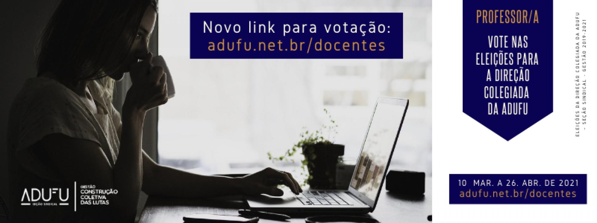 Eleição Direção Colegiada: novo link para votação já está disponível